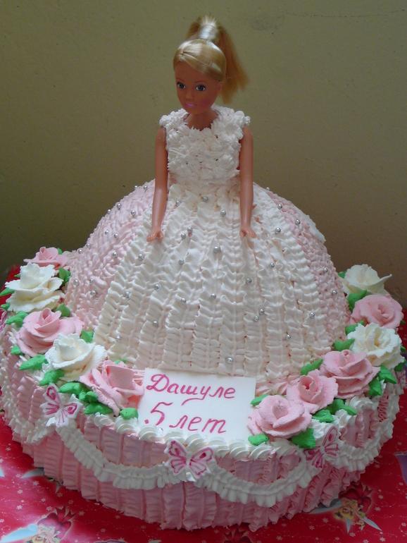 Торт кукла с фото