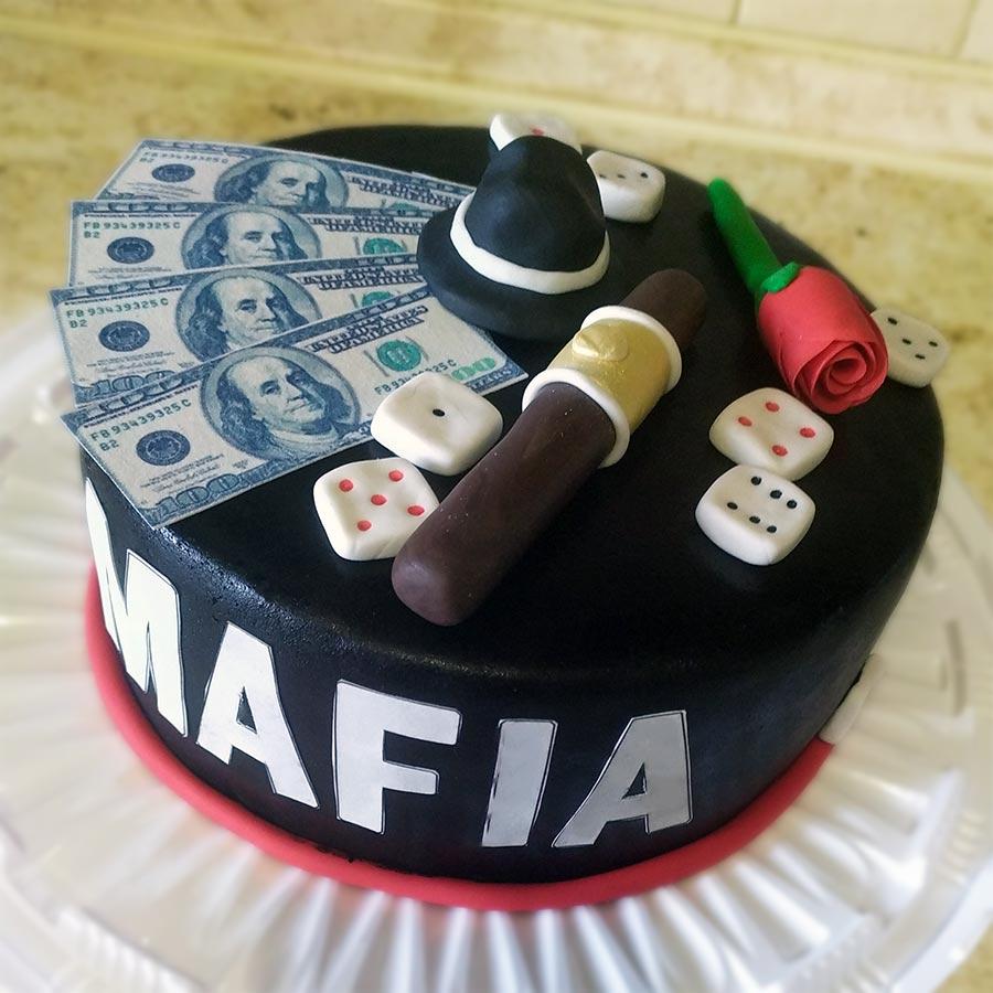 Торт поли робокар из крема